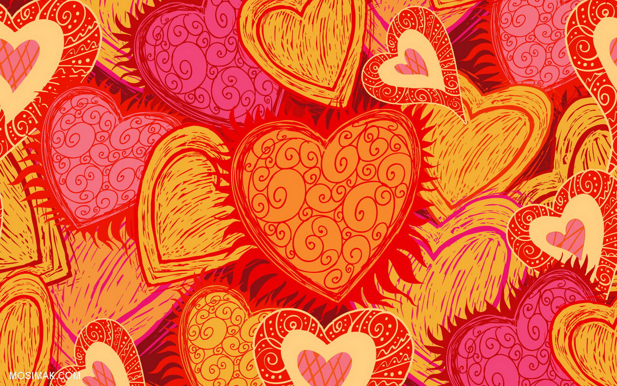 Vintage Valentine Desktop Wallpaper Wallpapersafari