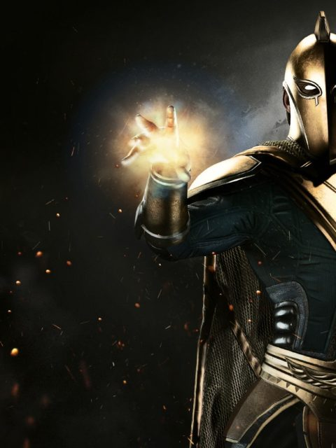 Doctor Fate in Injustice 2 Game 1080P Wallpapers 480x640