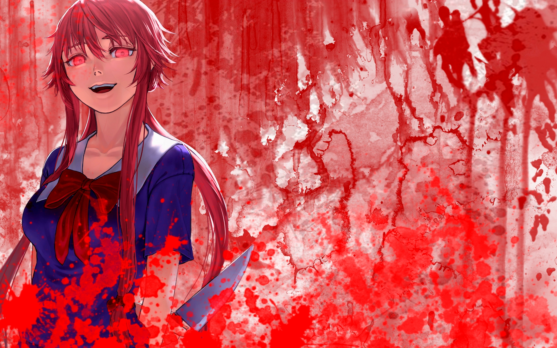Future Diary Wallpaper: Mirai Nikki Yuno Wallpaper