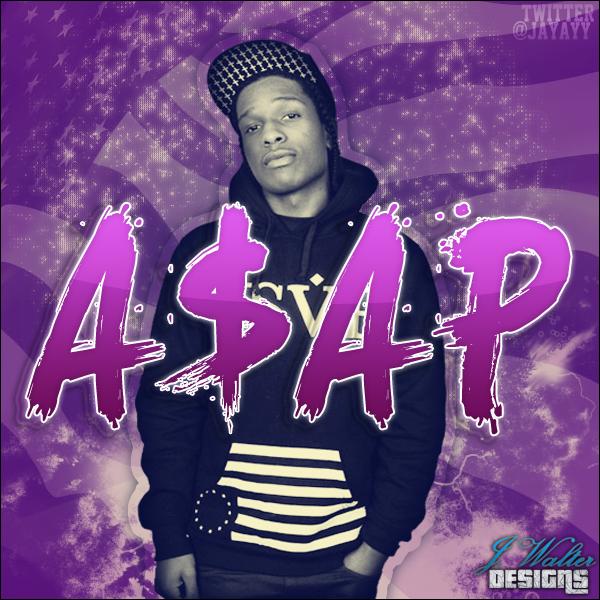 ASAP Rocky by JayAyy 600x600