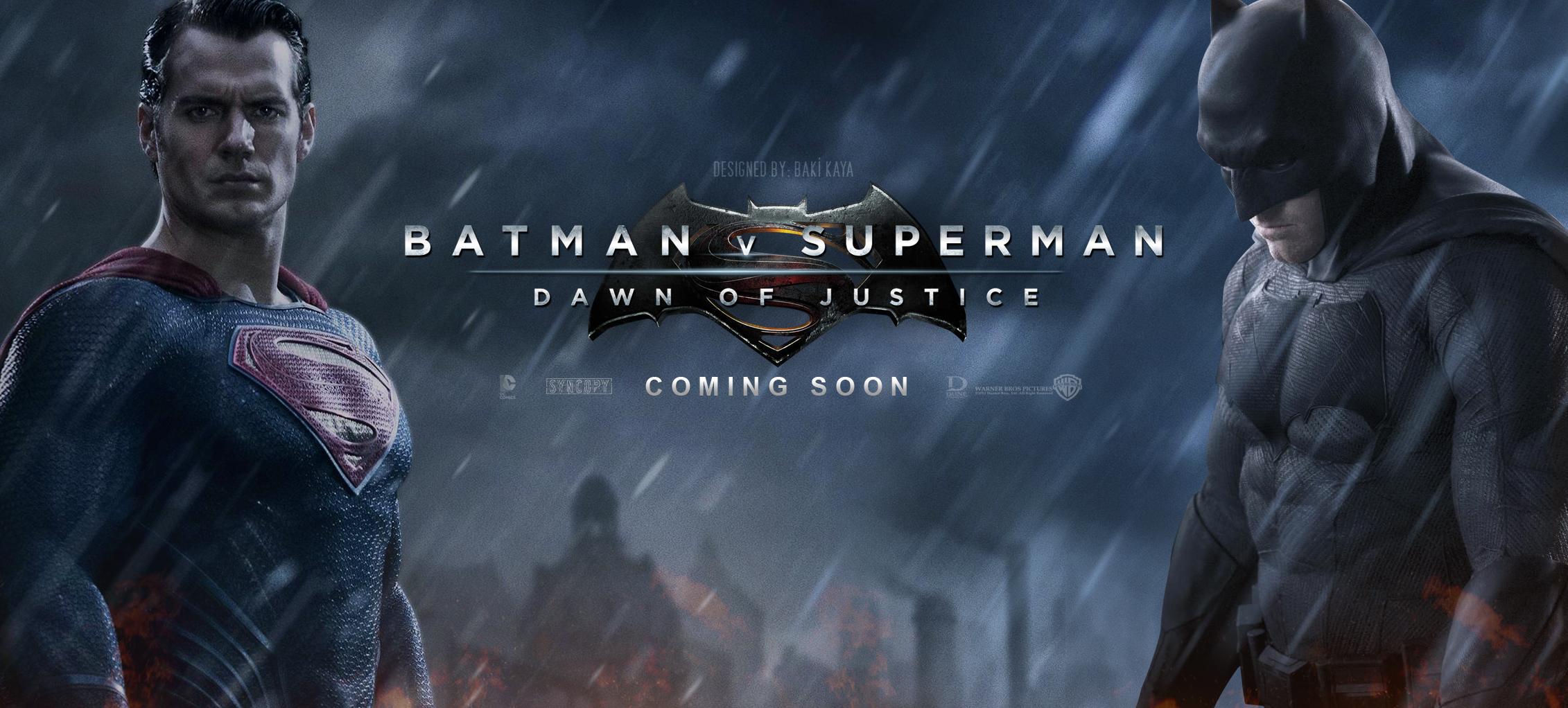 Batman v Superman Dawn Of Justice 2015 Movie Wallpaper 2262x1022