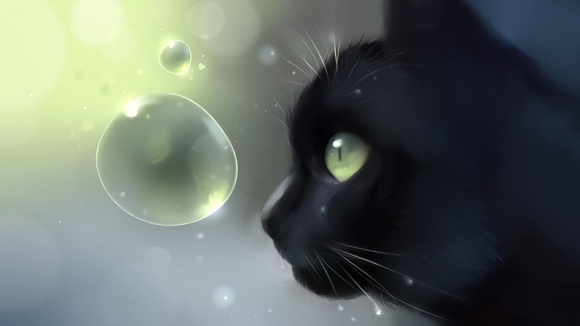 Free Download Wallpaper Cartoon Cat Wallpapers Cute Illustrator
