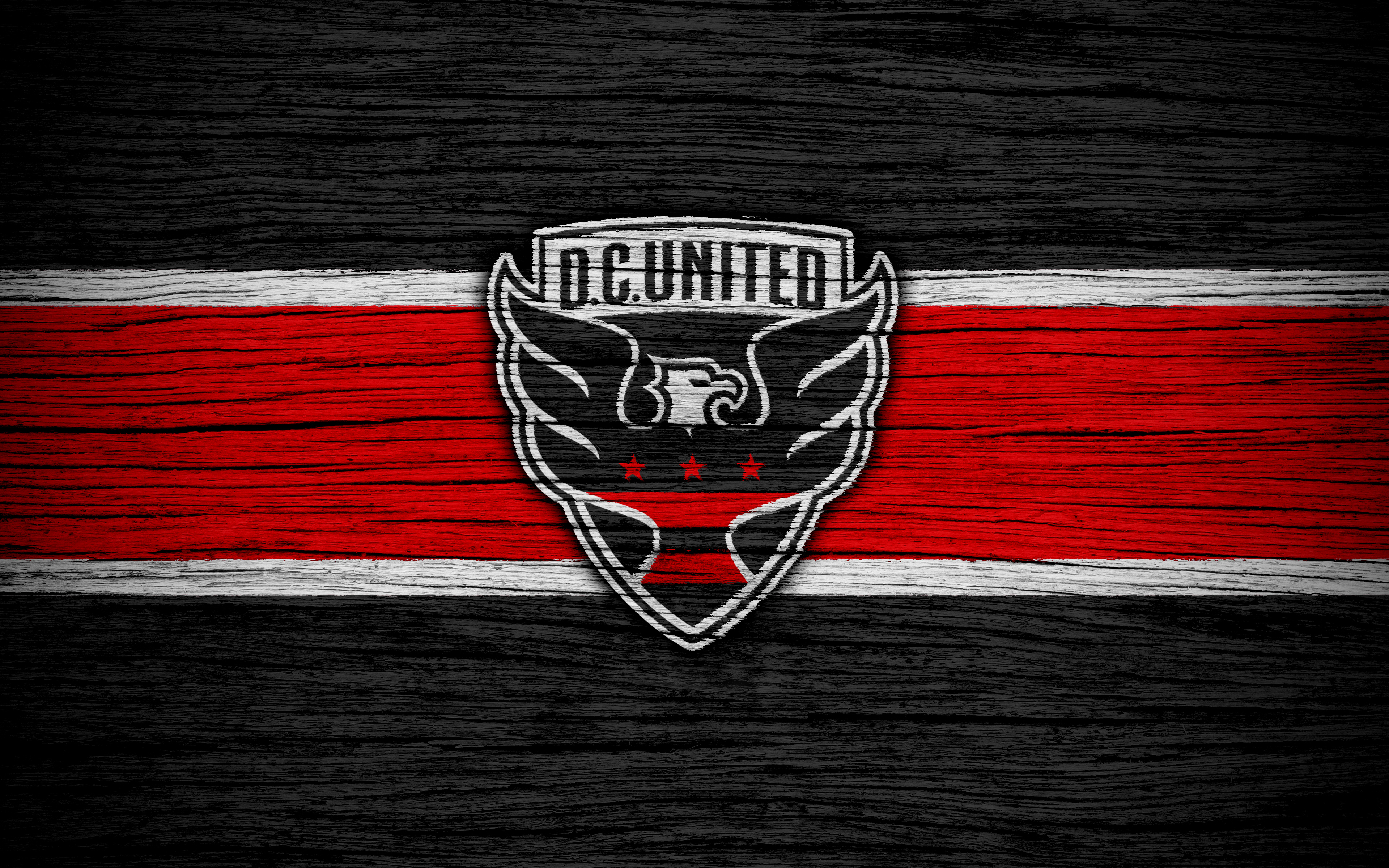 Soccer Emblem MLS Logo DC United wallpaper and background 3840x2400