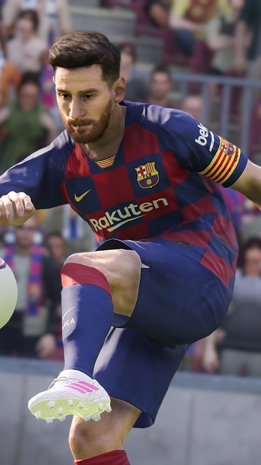 1080x1920 Lionel Messi In eFootball PES 2020 Iphone 7 6s 6 Plus 1080x1920