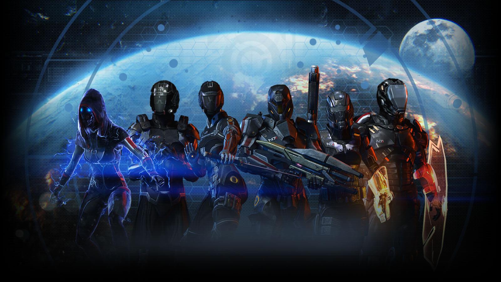 Mass Effect Desktop Backgrounds: Mass Effect Desktop Wallpaper