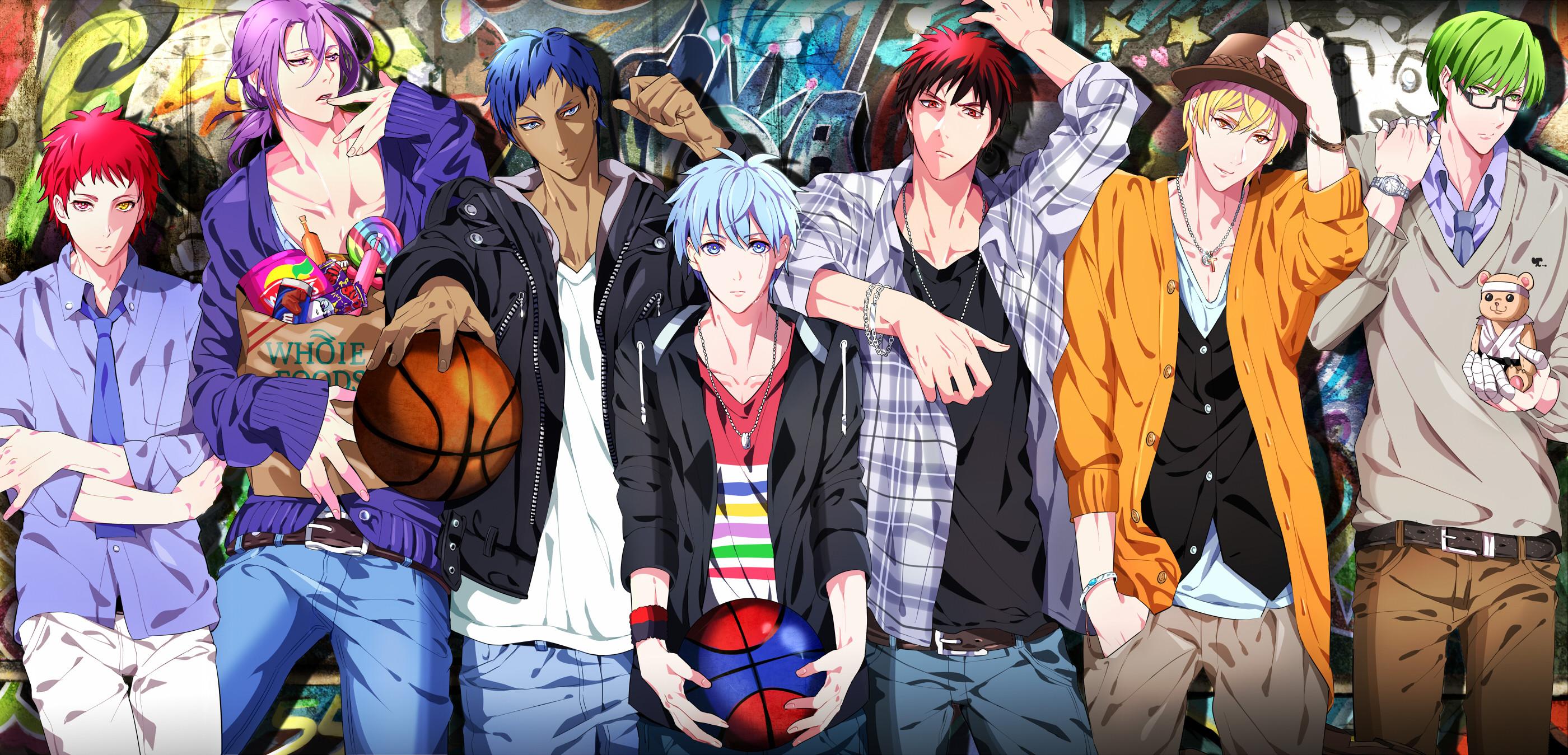 Kuroko Basketball Wallpaper 66 images 2800x1349