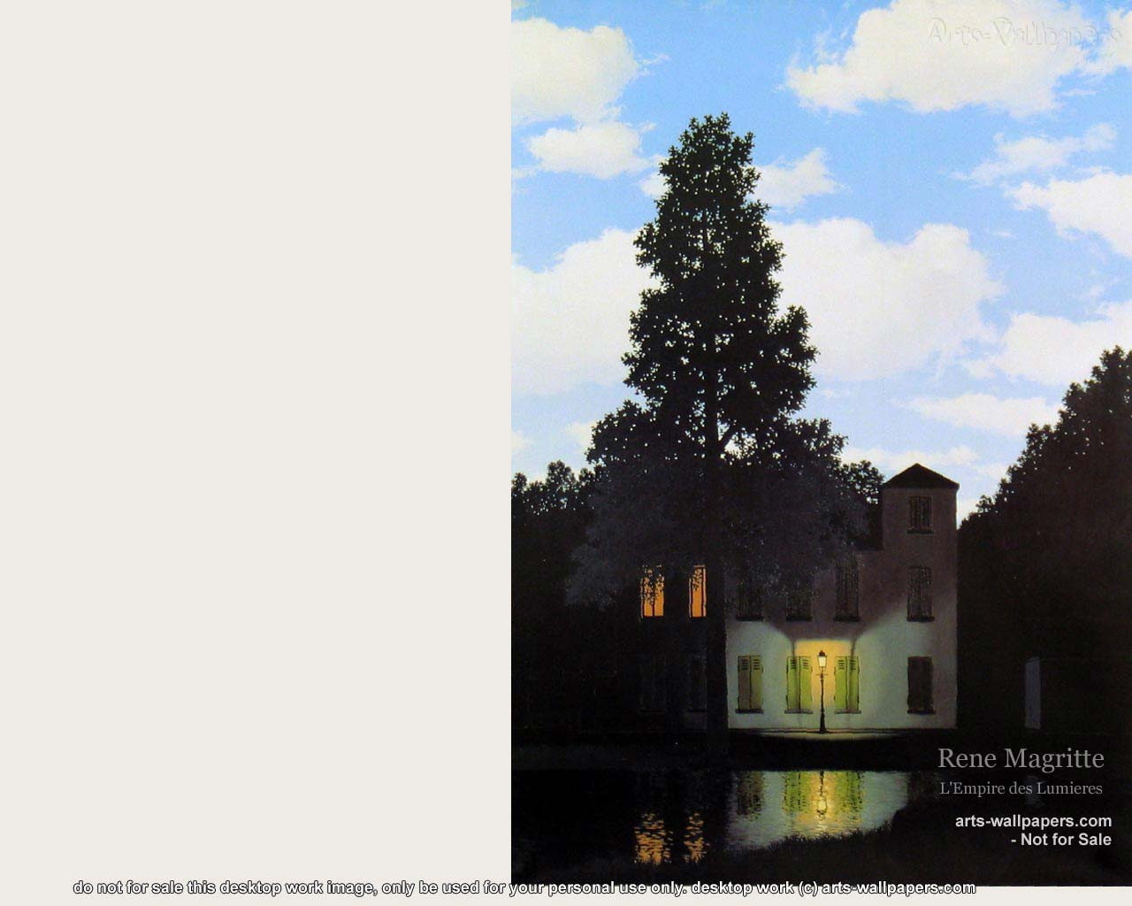Rene Magritte Paintings Wallpaper 1280 x 1024 1280x1024