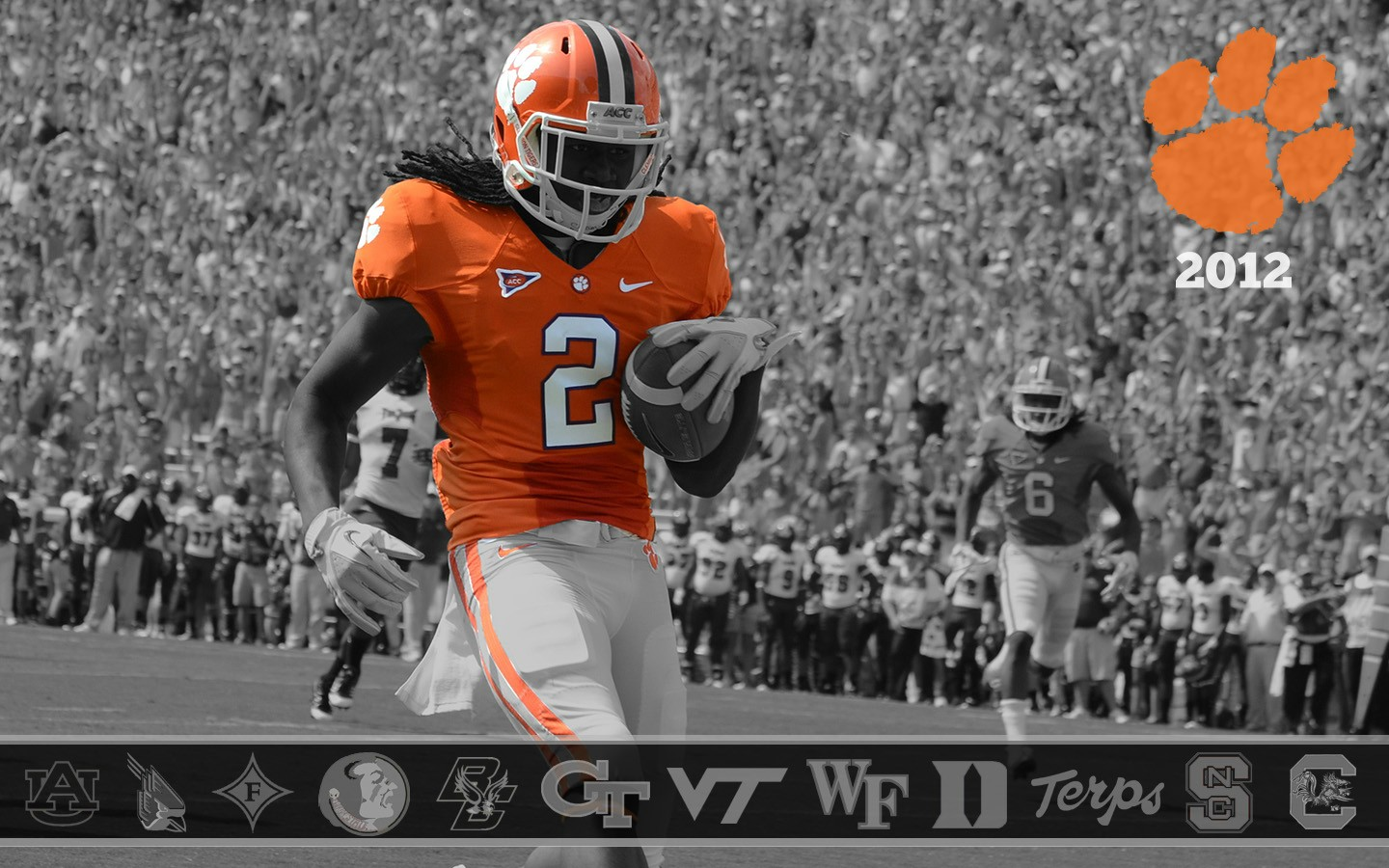 clemson football schedule wallpaper wallpapersafari