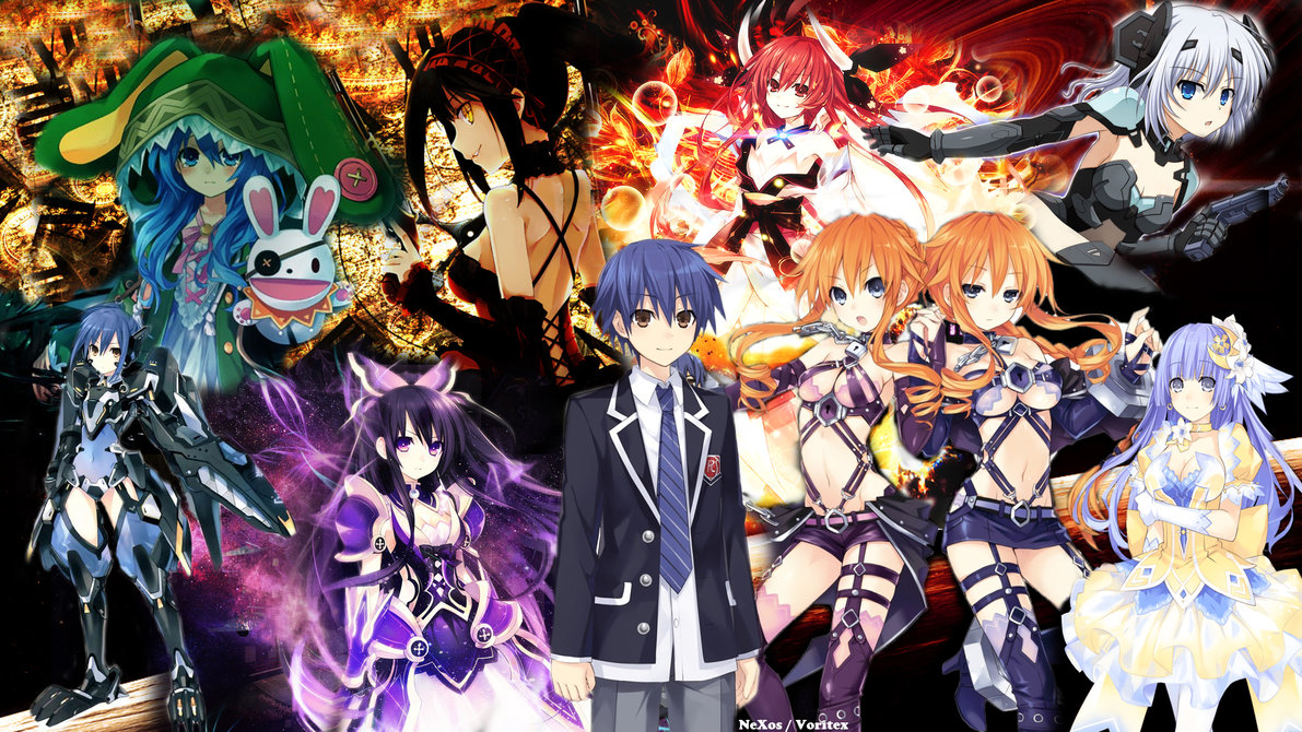 Date A Live 2 Wallpaper by NeXosMu 1191x670