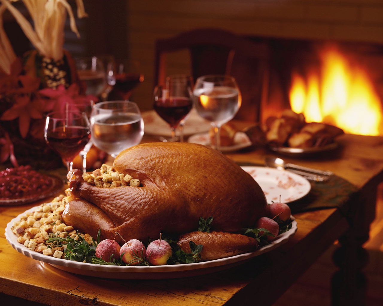 thanksgiving dinner roasted turkey images source 1280x1024