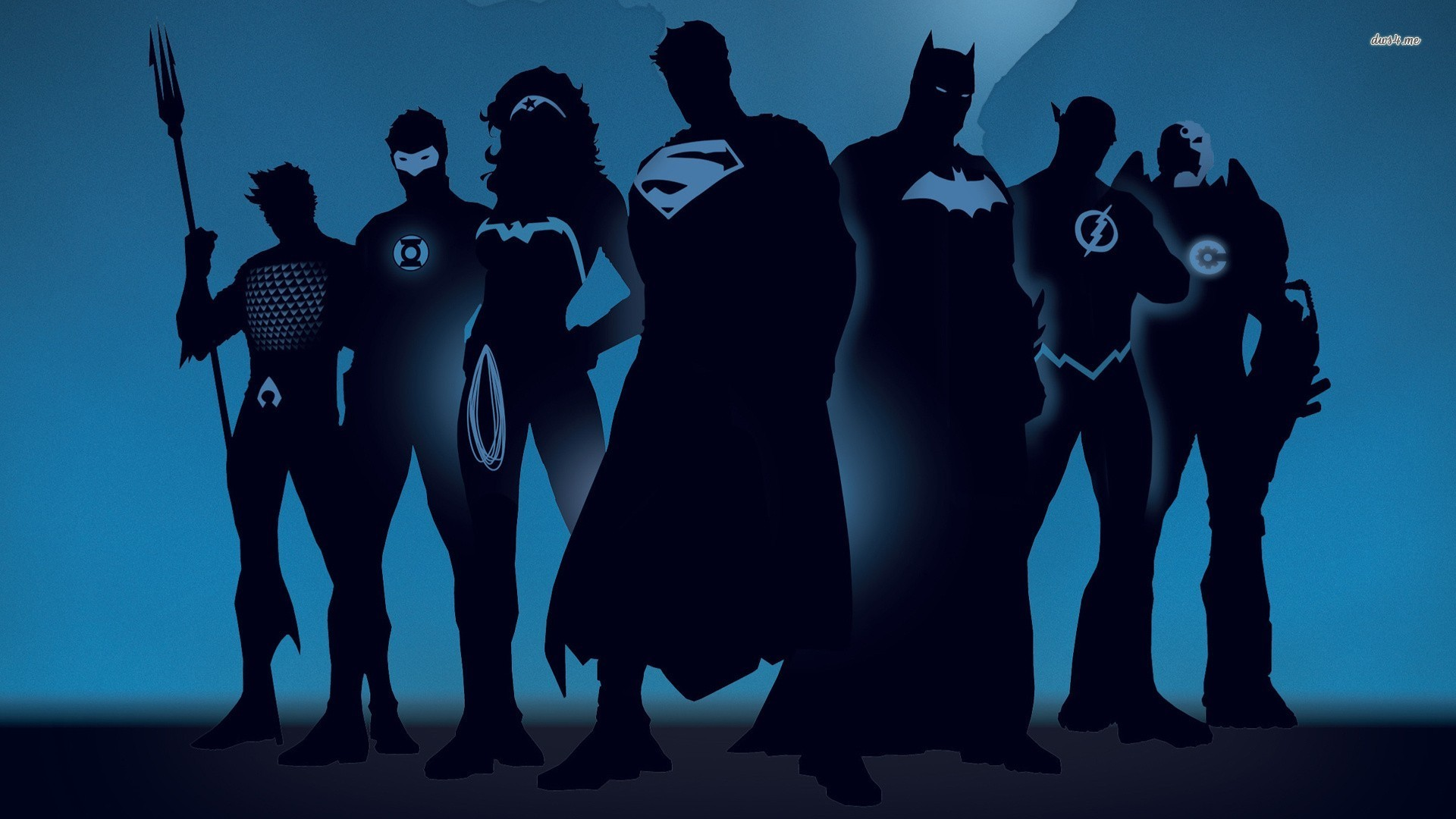 wallpaper 1280x800 Superhero silhouettes wallpaper 1366x768 Superhero 1920x1080