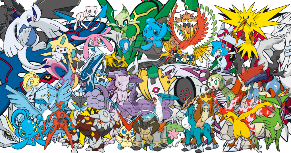 legendary pokemon wallpapers wallpapersafari