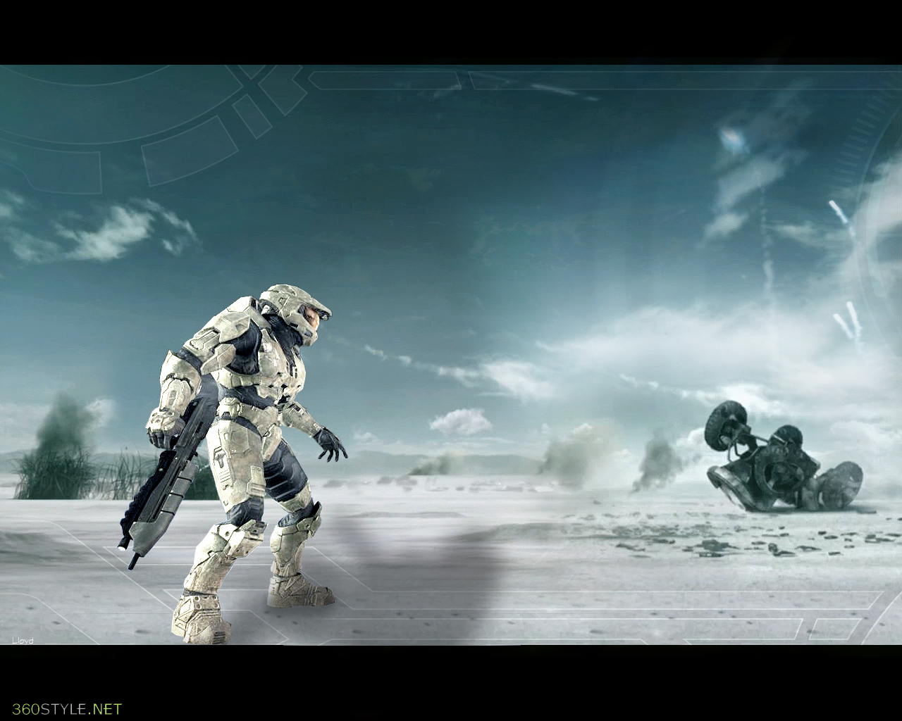 Cool Halo 3 Wallpapers Halo 3 wallpaper 2 by 1280x1024