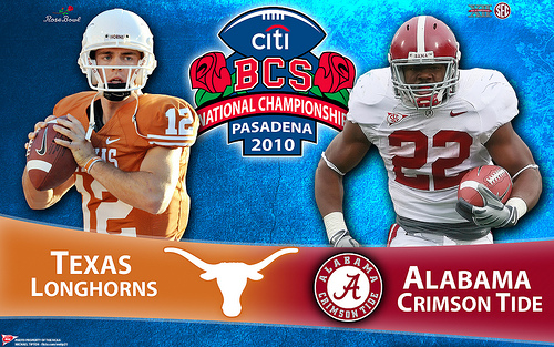 2010 BCS Championship Wallpaper Texas   Alabama 500x313