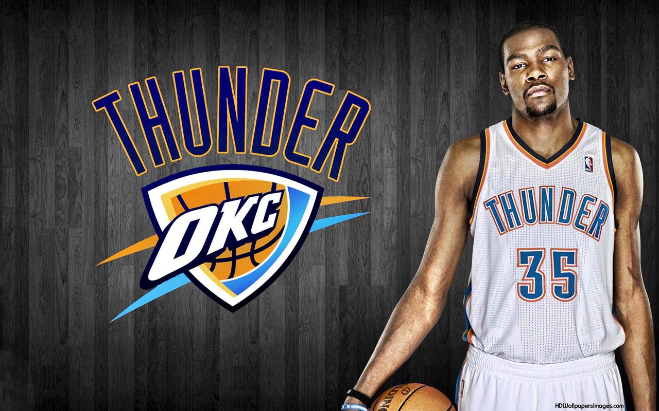 Kevin Durant Thunder Oklahoma City NBA MVP Kevin Durant Wallpaper 1280x800