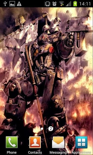 Warhammer 40k HD Wallpapers App for Android 307x512