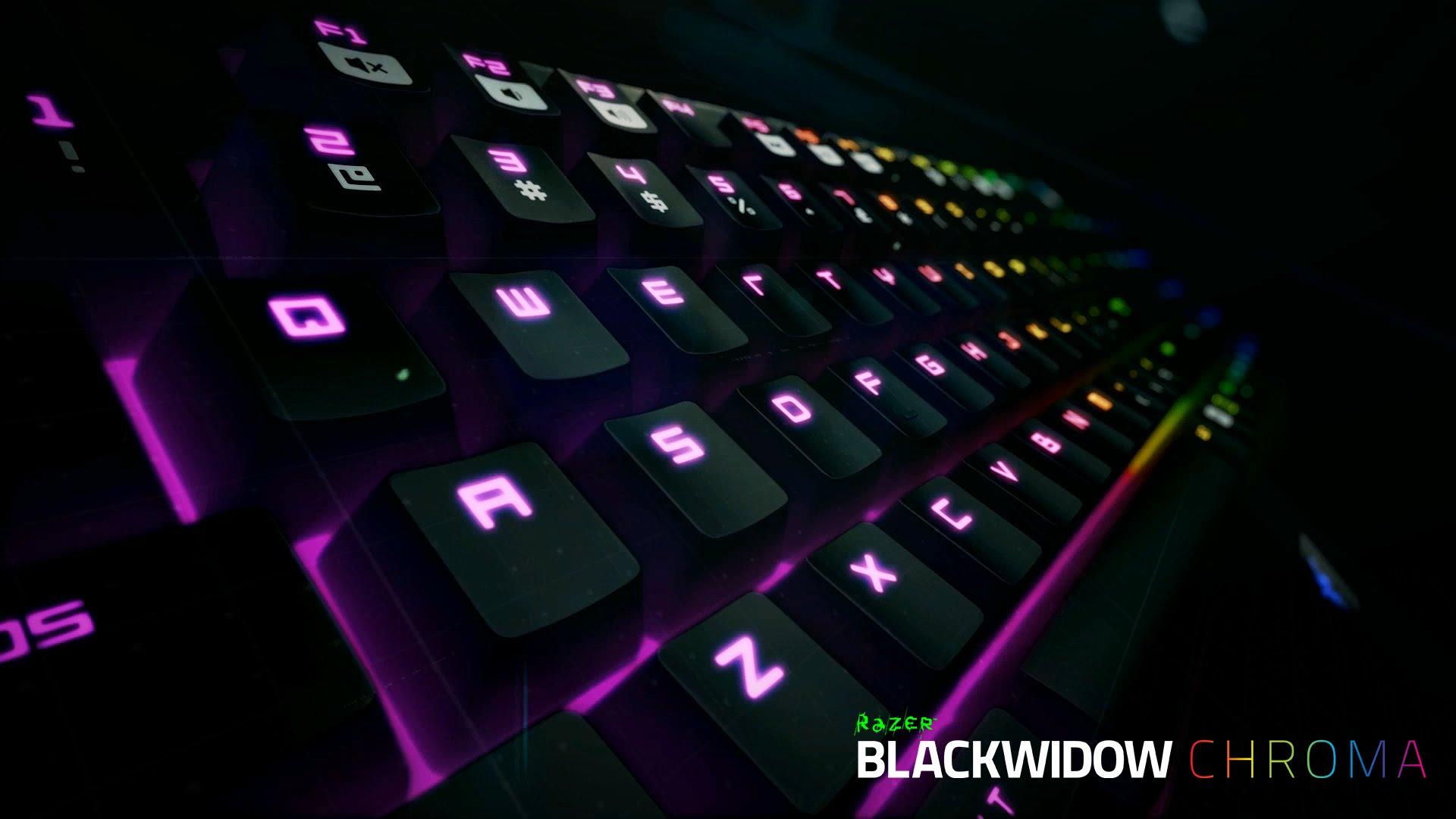 The new Razer BlackWidow Chroma 1920x1080