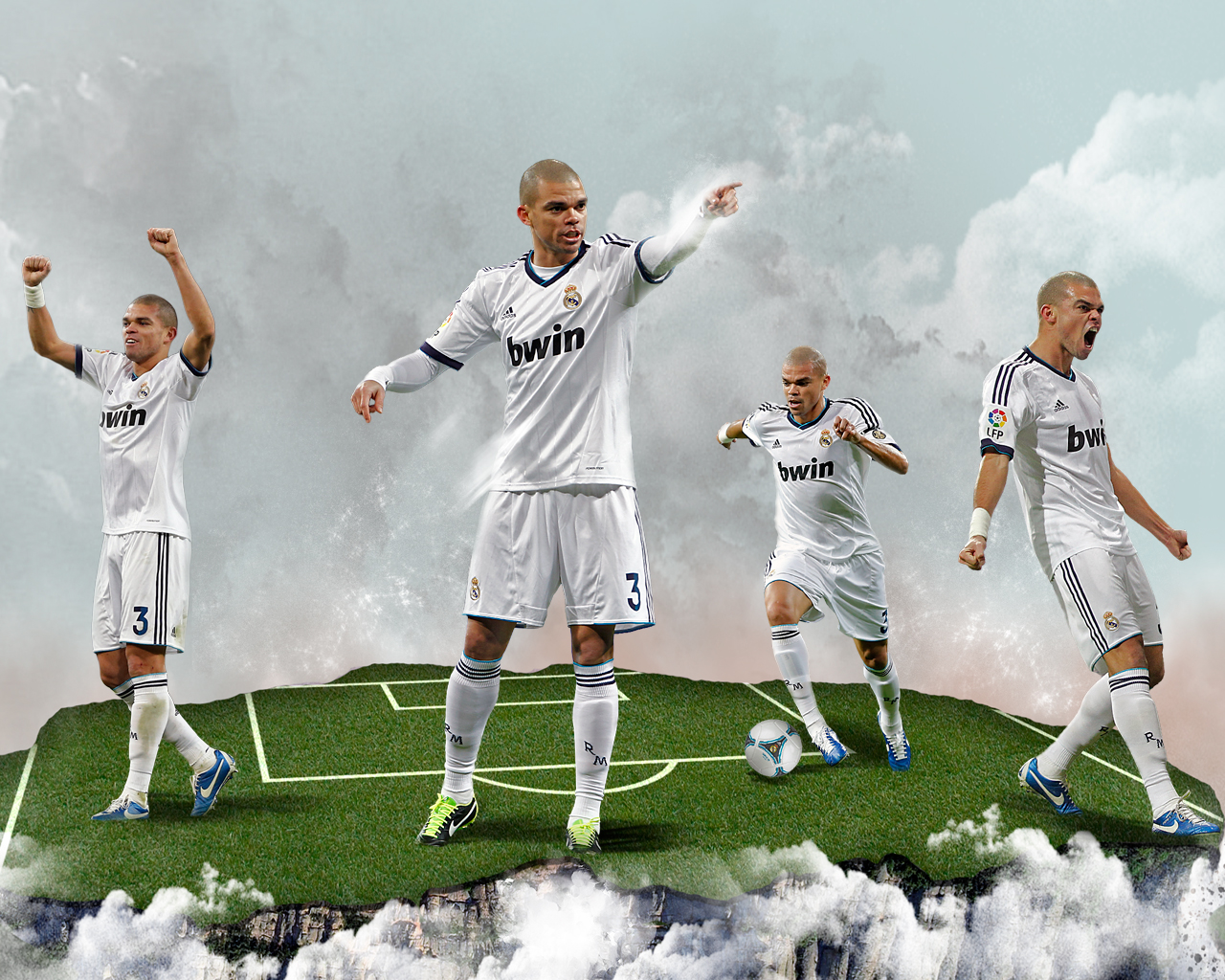 New Pepe wallpaper HD Real madrid 2013   2014 FULL HD High 1280x1024