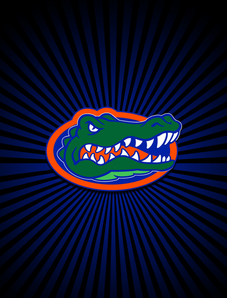 Florida Gators Logo Wallpaper for Samsung Galaxy S3 450x590