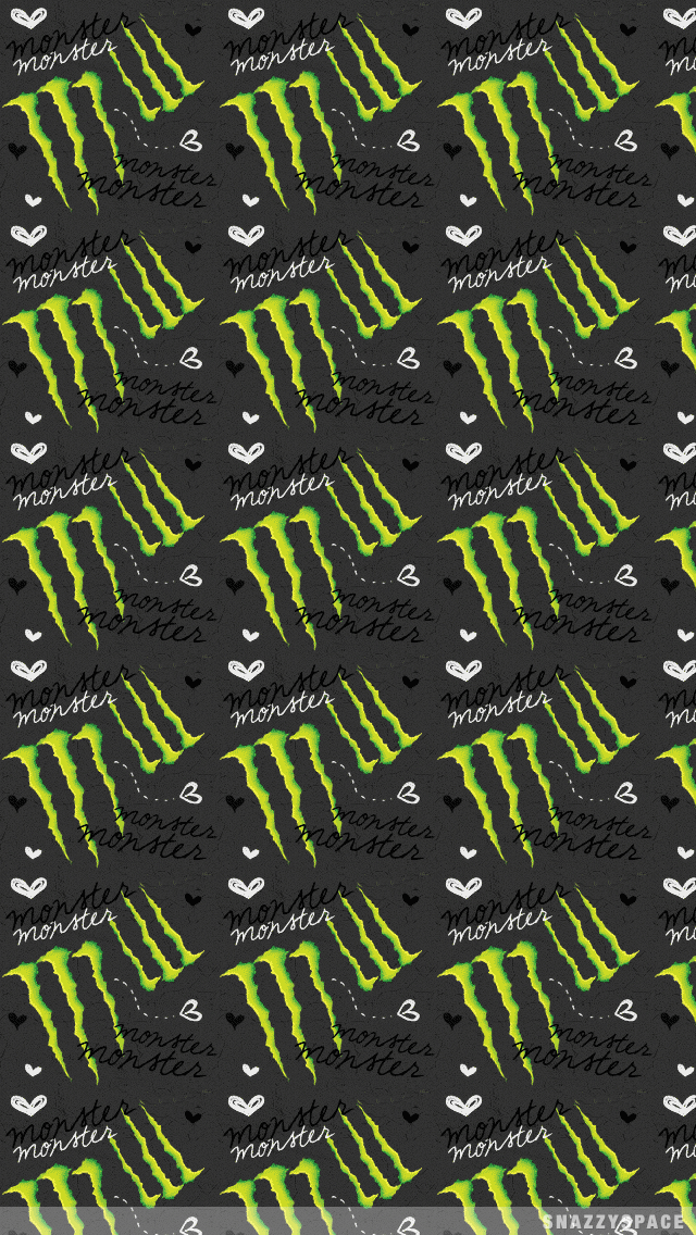 Wallpaper Installing This Monster Energy Iphone Is Very Easy 640x1136