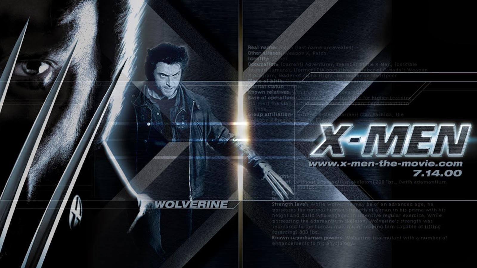 Wolverine X Men Movies 2014 Wallpaper HiresMOVIEWALLcom 1600x900