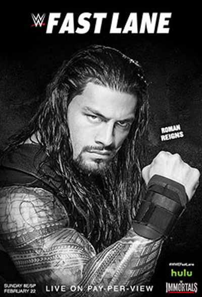WWE Fast Lane Poster   WWE Photo 37929045 400x590