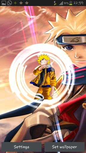 View bigger Naruto Live Wallpaper for Android screenshot 288x512