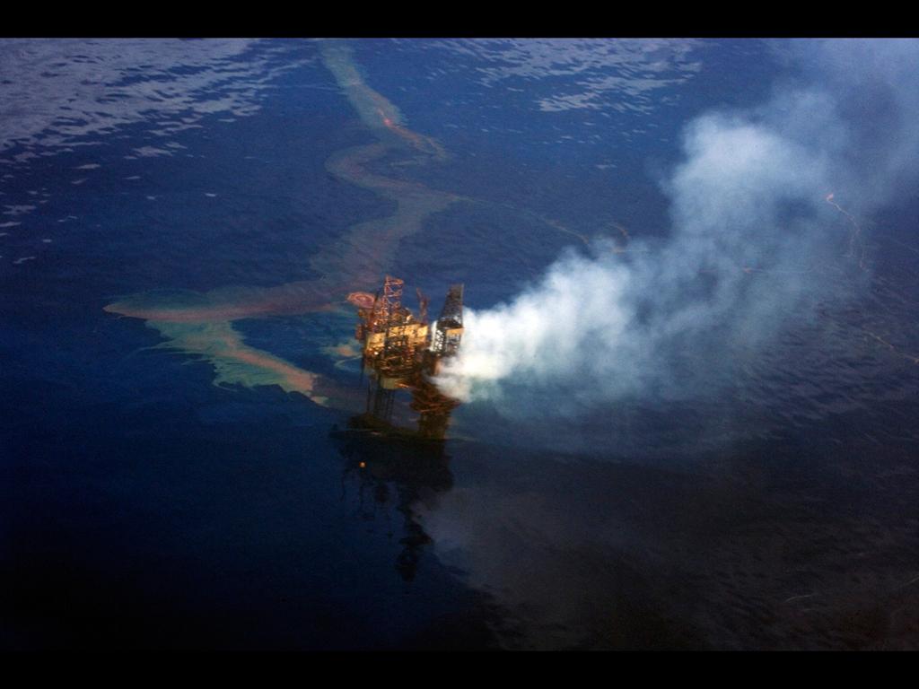 Gulf Of Mexico Oil Spill 2010 computer desktop wallpapers 1024x768
