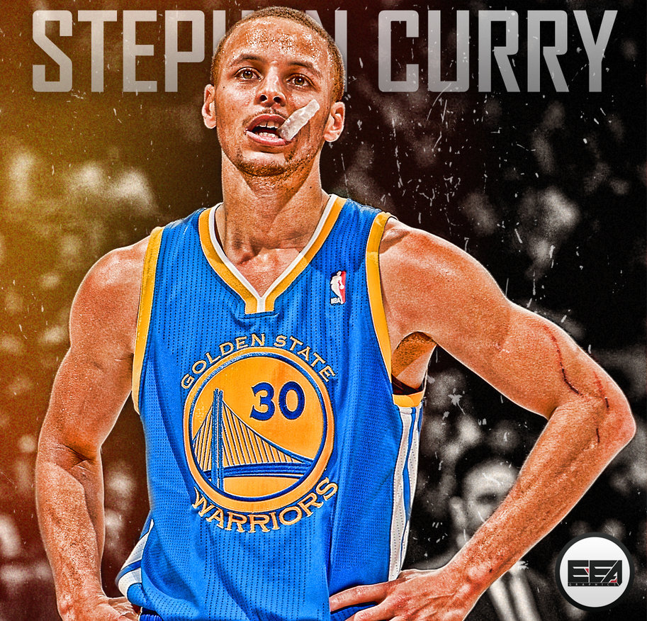 Stephen Curry Splash 2014 Wallpaper 913x876