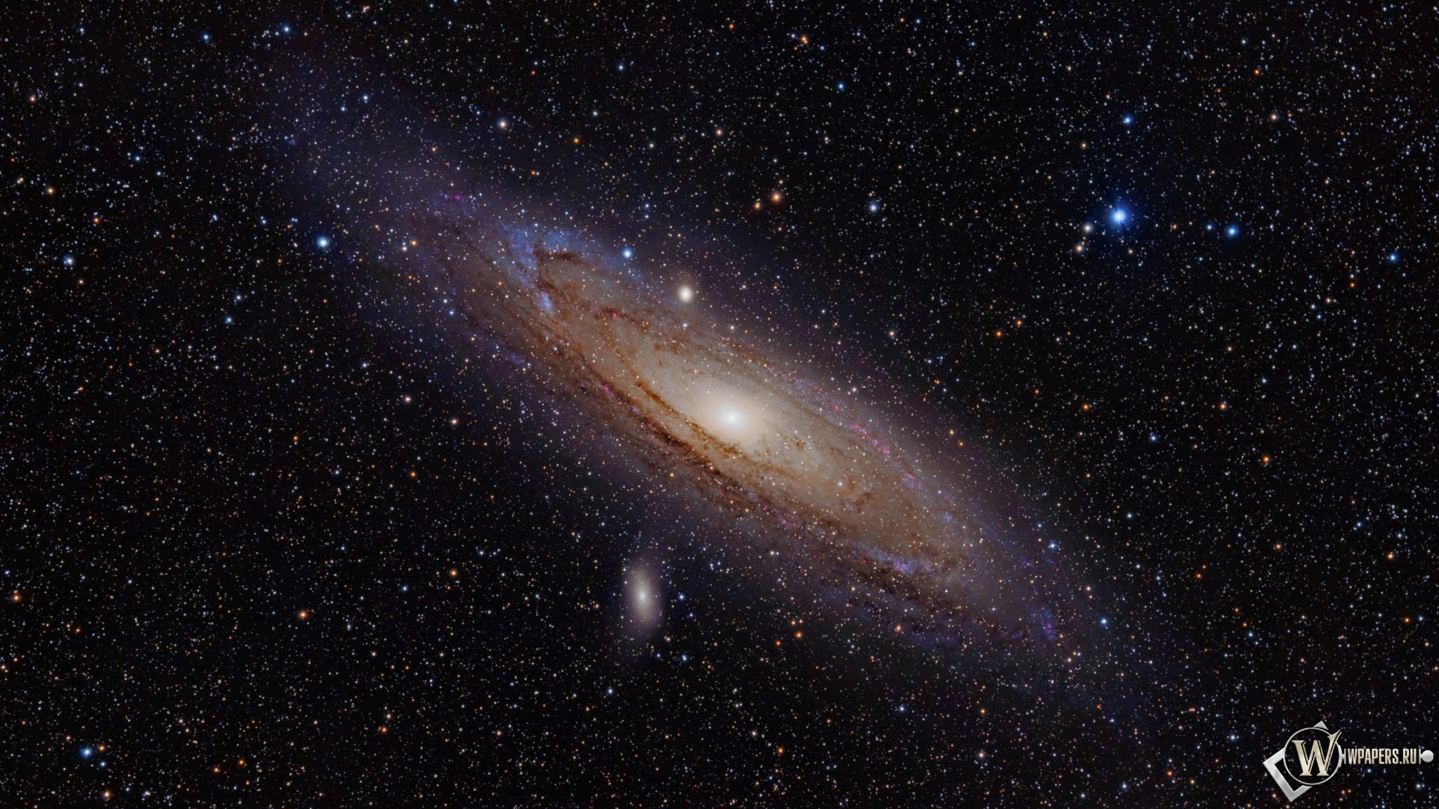 Andromeda Galaxy 2048x1152