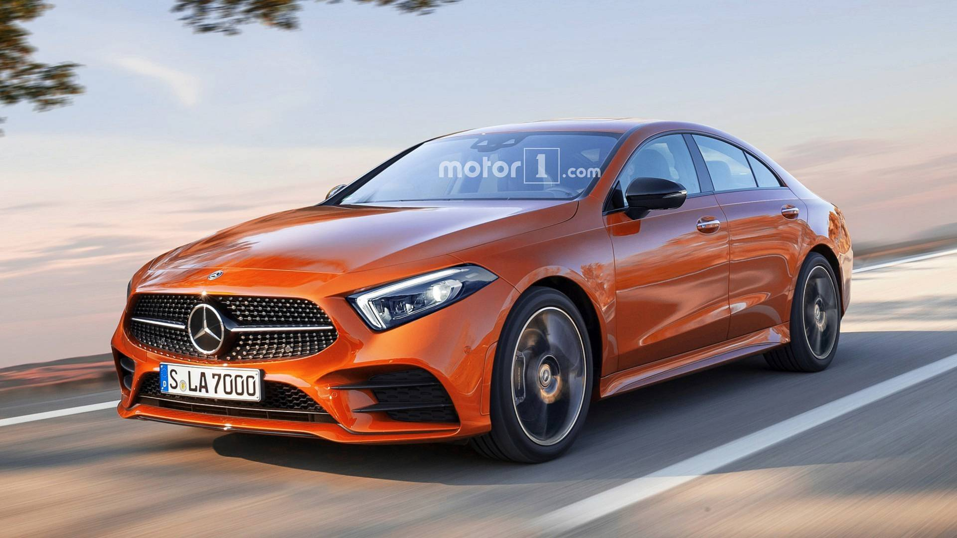 2020 Mercedes CLA Render Looks Like A Sleeker A Class Sedan 1920x1080