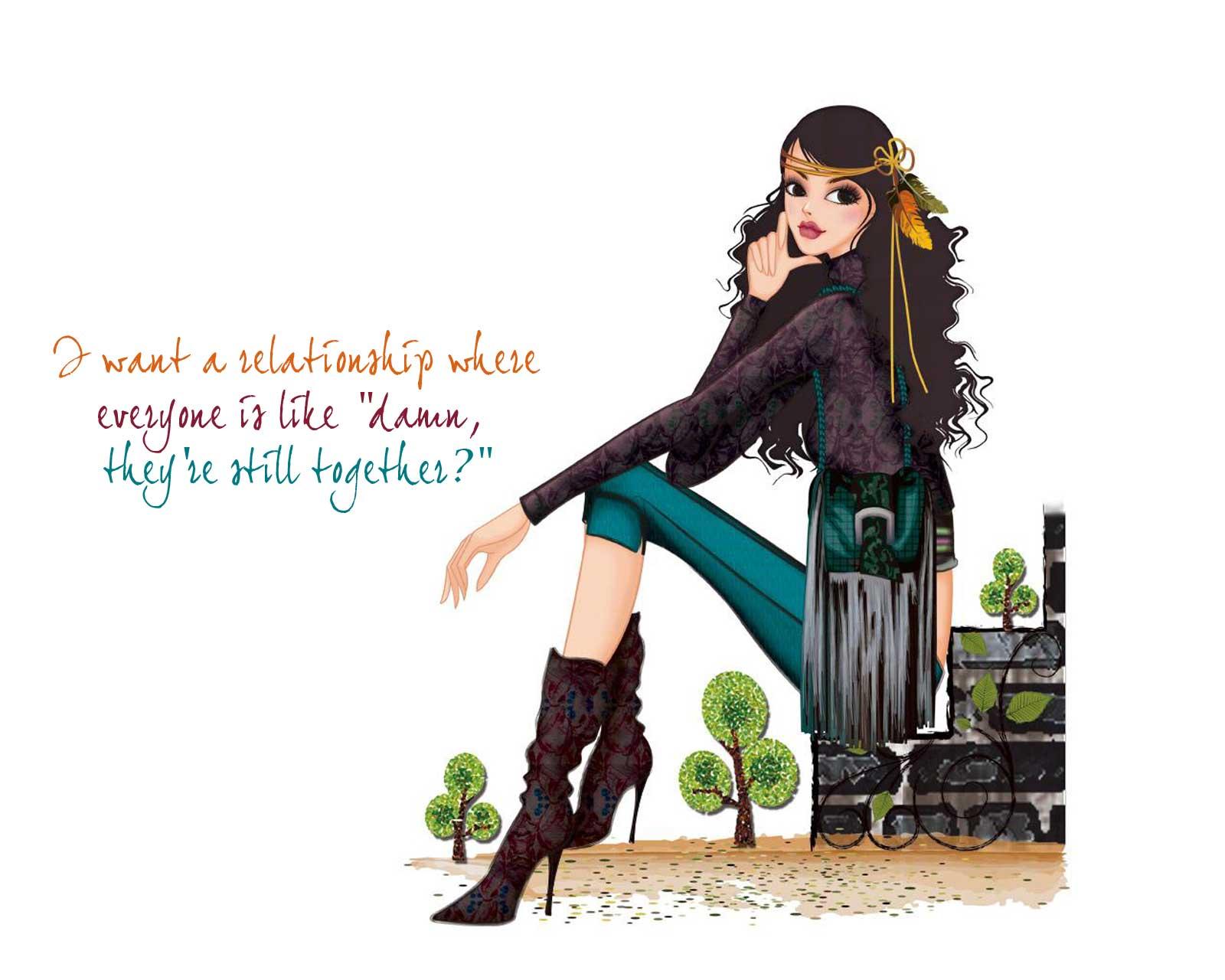 49+] Girl Quotes Wallpaper on WallpaperSafari