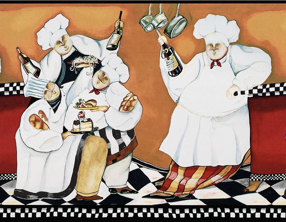 1000x775px Fat Chef Wallpaper Border Wallpapersafari