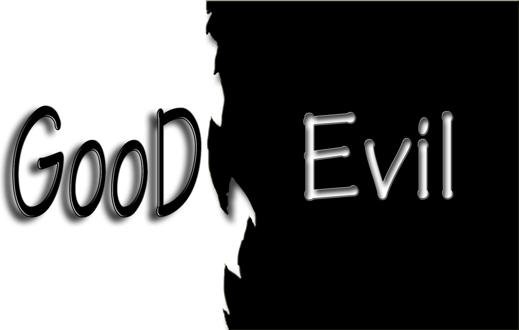 good evil All the goodness and the heroisms will rise up again, then be cut down again  and rise up it isn't that the evil thing wins — it never will — but.