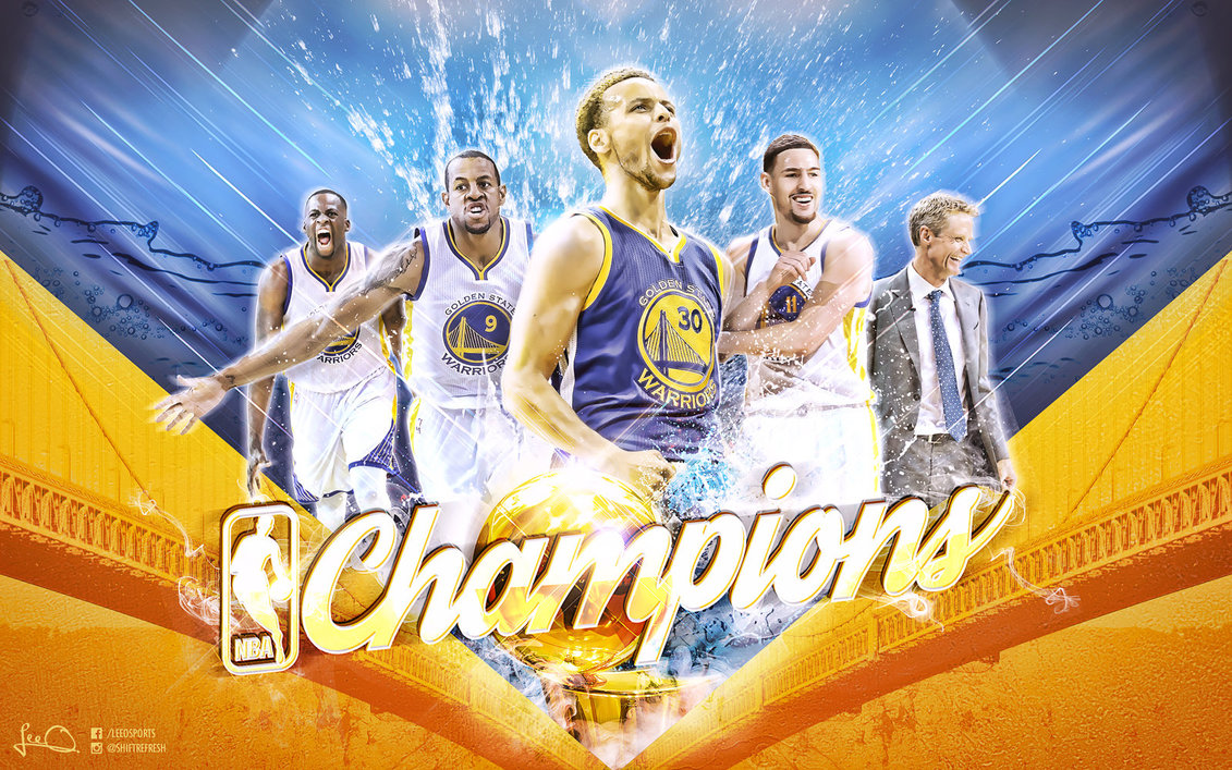 Golden State Warriors NBA Champions Wallpaper by skythlee on 1131x707