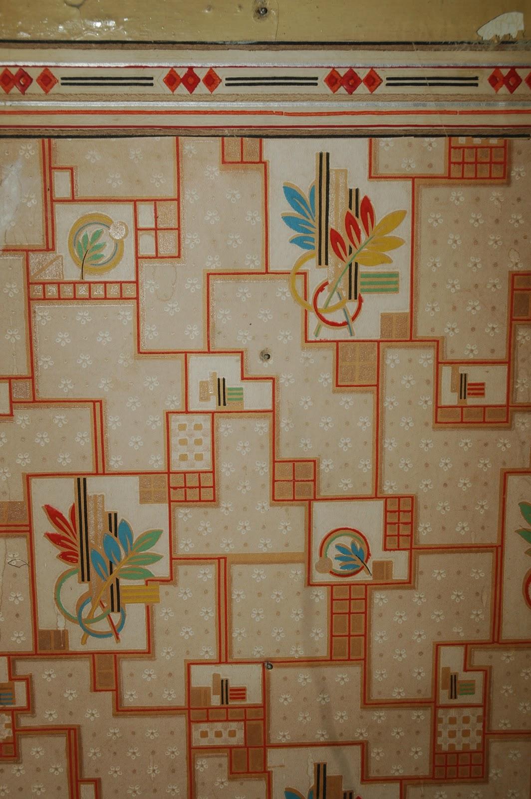 Vintage farmhouse wallpaper and border 1064x1600