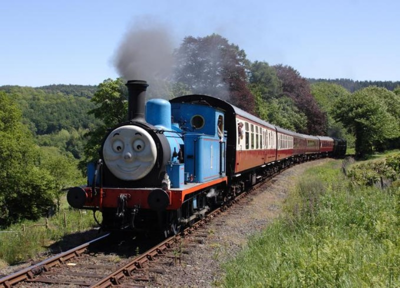 Excitement N Net Thomas the Tank Engine   Wallpapers 800x576
