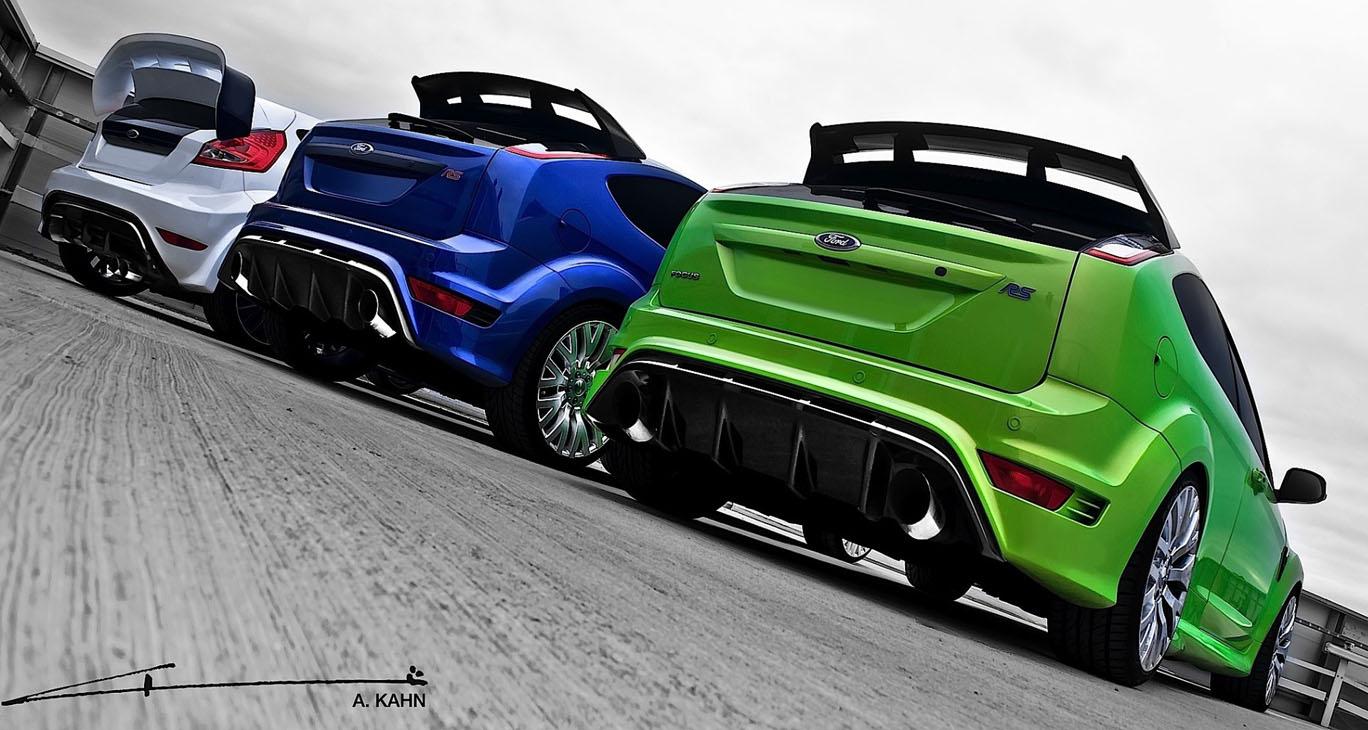 Ford Focus Rs Rc Car