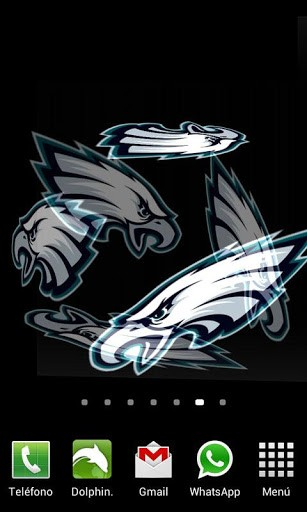View bigger 3D Philadelphia Eagles LWP for Android screenshot 307x512