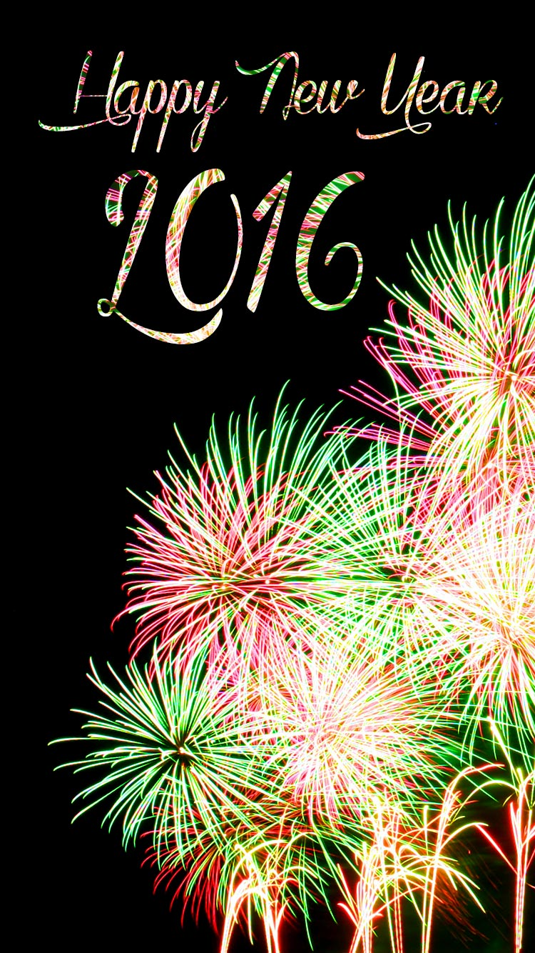 HappyNew Year 2015 Paint wallpaper Gallery 750x1334