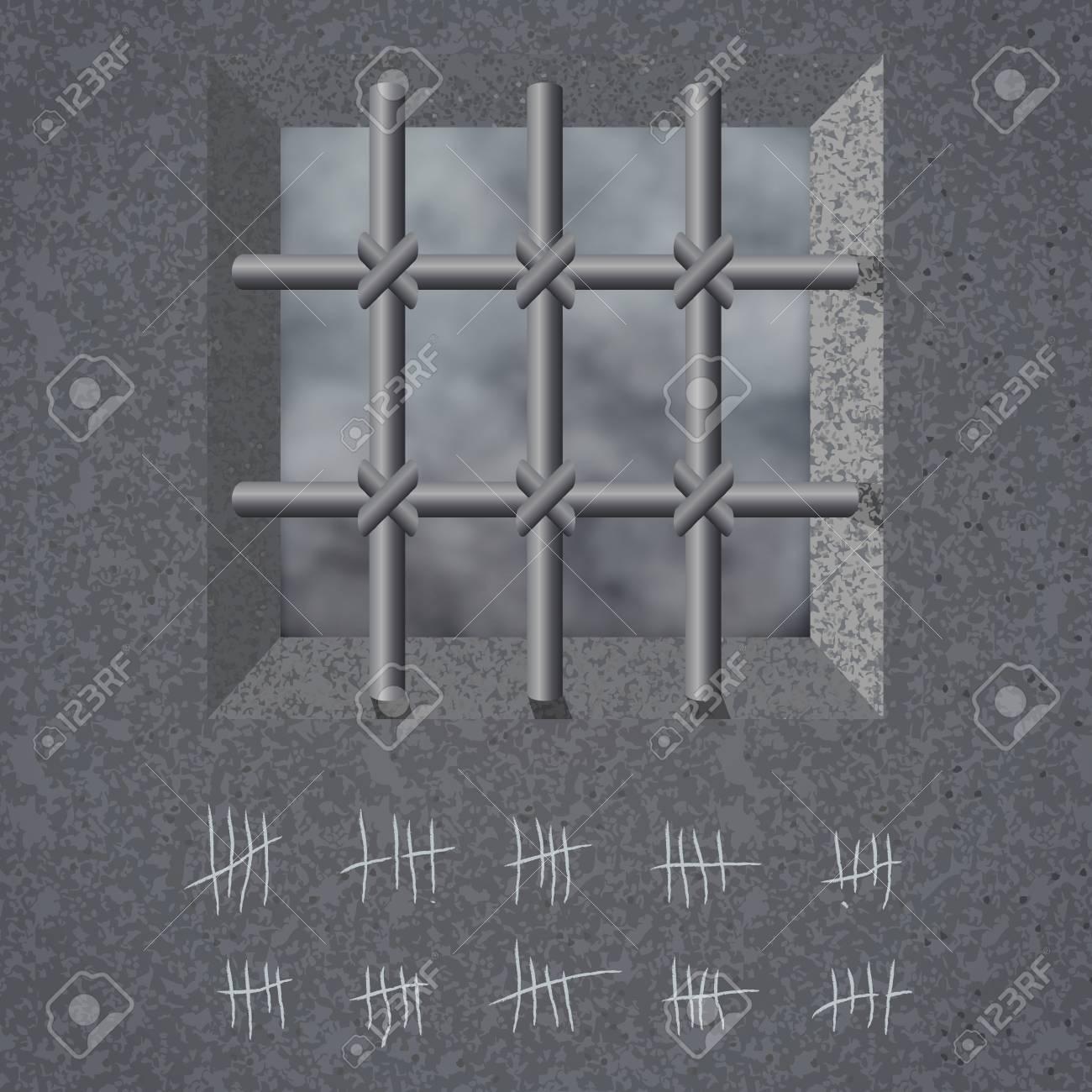Prison Background Vector Illustration Eps10 Royalty 1300x1300