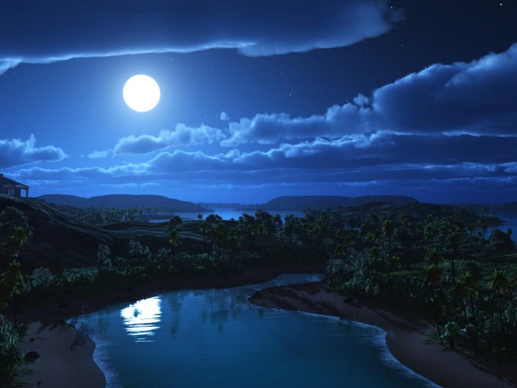 Beautiful Night Sky wallpaperWallpaper Background 1024x768