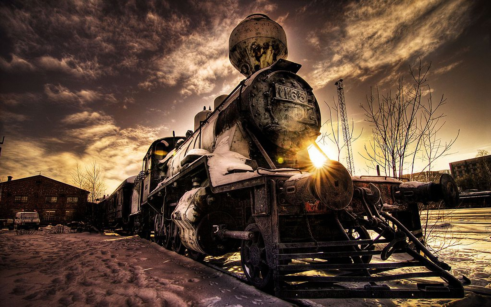 Free Download Download Old Train Wallpaper Which Is Under