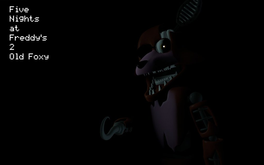 Gmod FNAF 2 Wallpaper Old Foxy V2 By M P S Games 1024x640