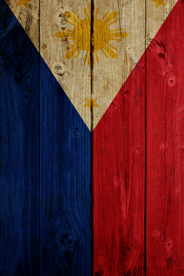 Philippines Flag iPhone 5 Wallpaper 640x960