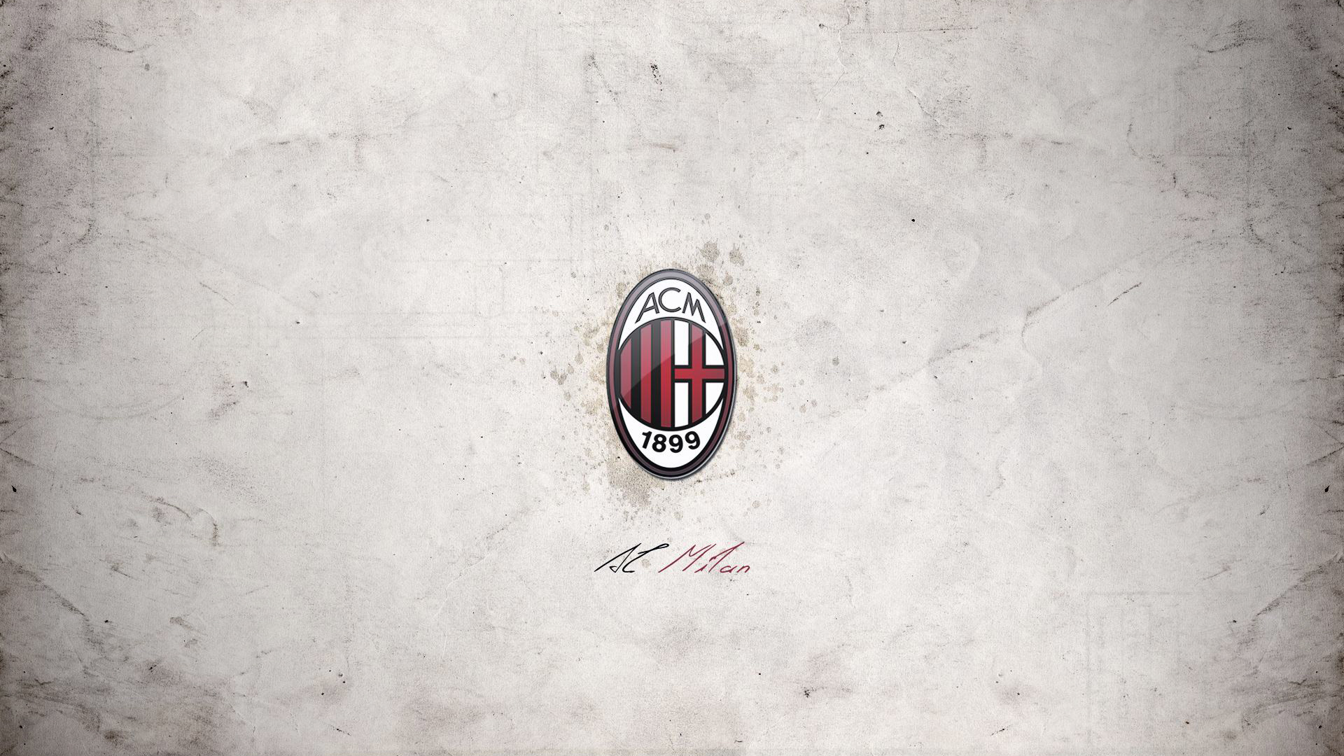 Best AC Milan Football Club Logo Wallpaper Background Wallpaper with 1920x1080
