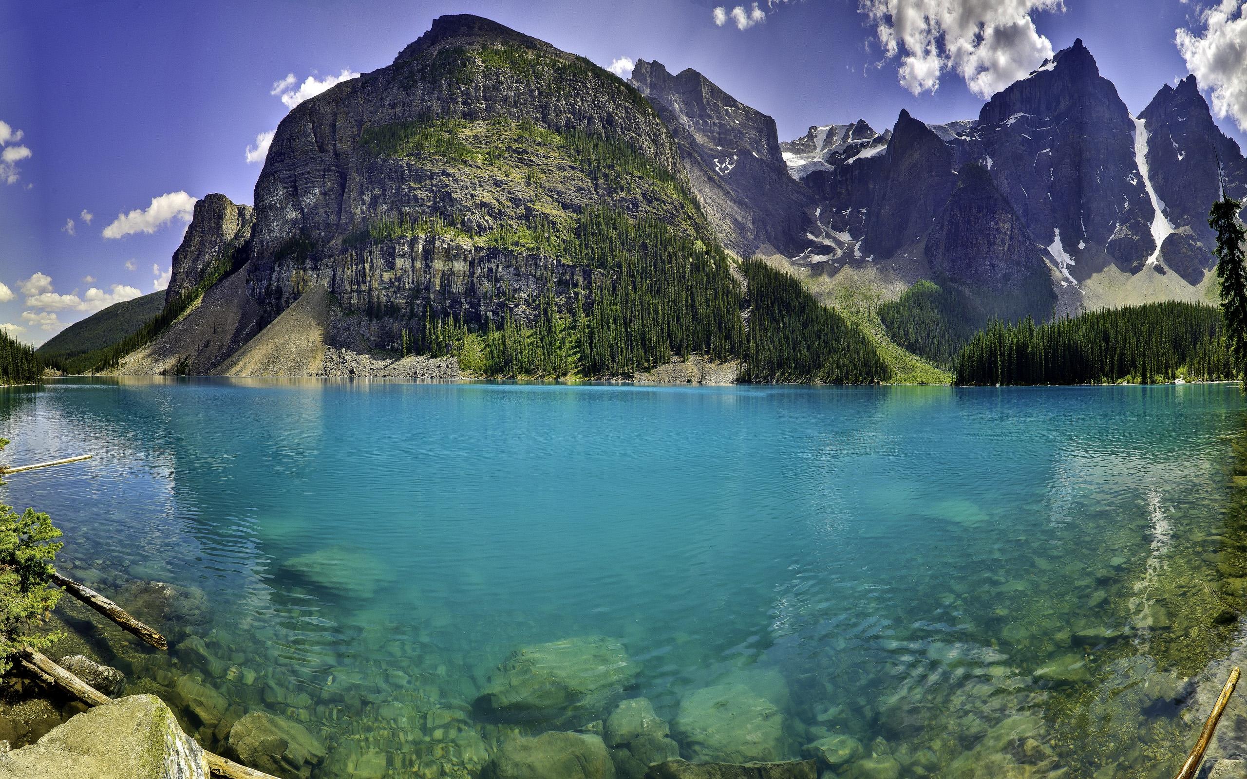 2560x1600 Moraine Lake desktop PC and Mac wallpaper 2560x1600