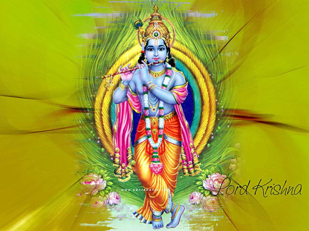 Lord krishna wallpapers india wallpapersafari - Krishna god pic download ...