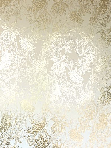 Hothouse Cream Gold by Erica Wakerly Wallpaper Direct 392x522