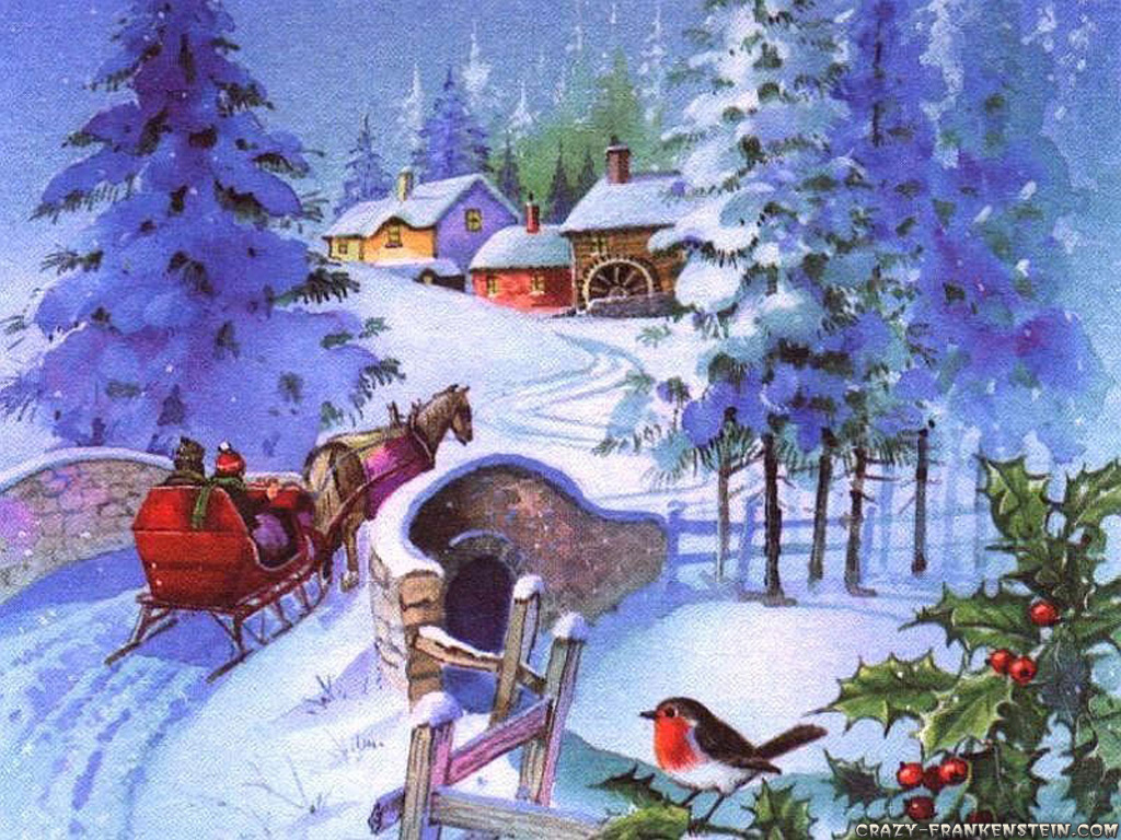 old fashioned christmas wallpaper 2017 Grasscloth Wallpaper 1024x768